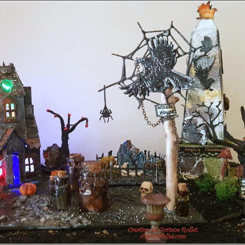 Diorama Hallowwen