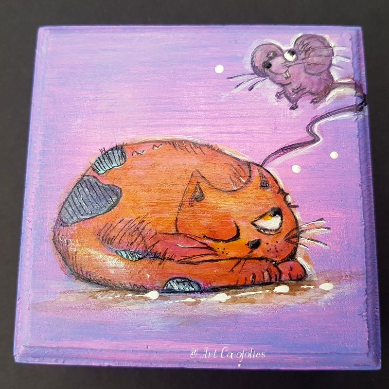 boite-bois-peinte-chat-et-souris-6