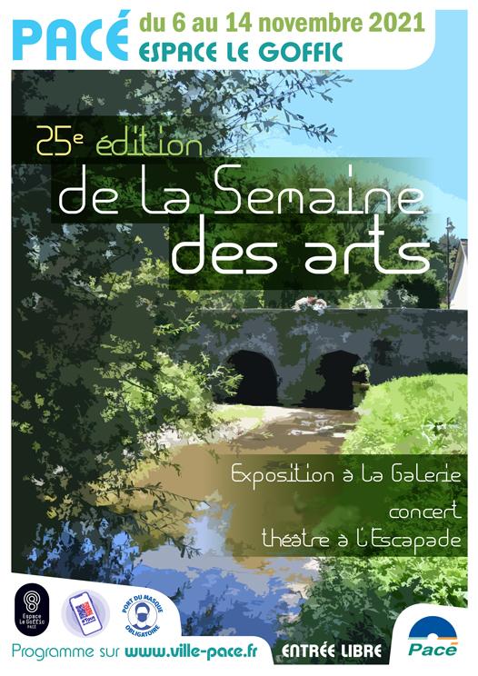 Exposition 25ème semaine des arts Pacé